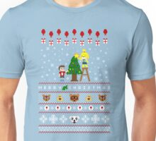 Animal Town Christmas Sweater + Card Unisex T-Shirt