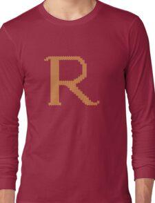 R's Christmas Sweater Long Sleeve T-Shirt