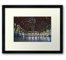 Mount Royal viewpoint chalet Framed Print