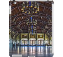 Mount Royal viewpoint chalet iPad Case/Skin