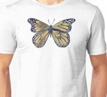 Gold Butterfly Unisex T-Shirt