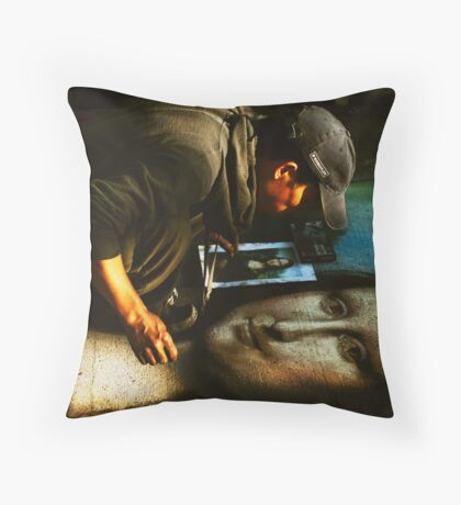 Imitation Throw Pillow