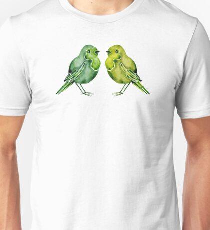 Parakeets Unisex T-Shirt