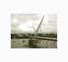 Derry Peace Bridge -  Derry Ireland Unisex T-Shirt