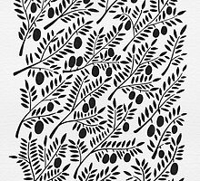 Black Olive Branches by Cat Coquillette