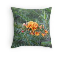 Bright Australian Native Flowers - Nangawooka Flora Reserve SA Throw Pillow
