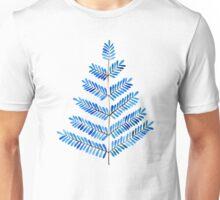 Blue Leaflets Unisex T-Shirt