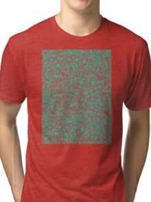 Knee-Deep in Turquoise Ink Tri-blend T-Shirt