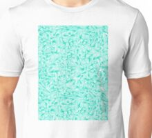 Knee-Deep in Turquoise Ink Unisex T-Shirt