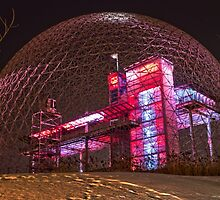 Montreal Biosphere pavilion expo 67 by louishay