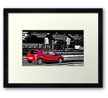 Cars in Dortmund Framed Print