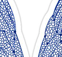 Navy Cicada Wings Sticker