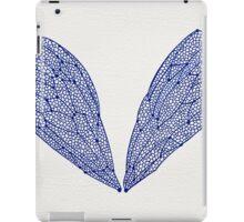Navy Cicada Wings iPad Case/Skin