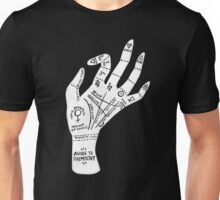 Palm Reading Unisex T-Shirt