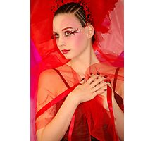Fantasy red Photographic Print