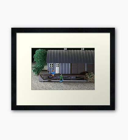 Sally Sent Tom Away After He Lost His Toes in an Accident; Turns Out She Was Lack Toes Intolerant Framed Print