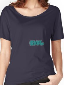 Sparkling Glitter Cool Text Women's Relaxed Fit T-Shirt