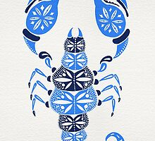 Blue Scorpion by Cat Coquillette