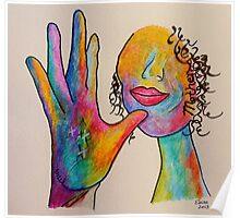 MOTHER - American Sign Language ASL Poster