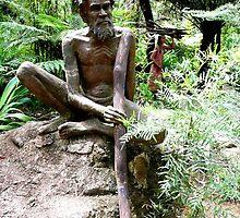 Australian Aborigine by Janette Anderson