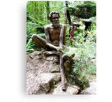 Australian Aborigine Canvas Print