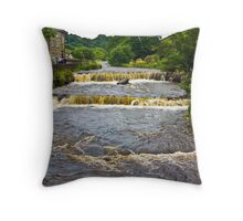 Gayle Mill Force (Gayle Beck) - Hawes Throw Pillow