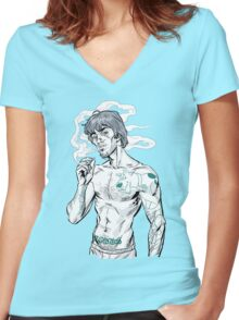 Zoinks! Women's Fitted V-Neck T-Shirt