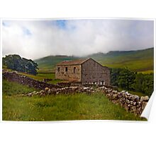 Dales Stone Barn Poster