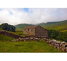 Dales Stone Barn Photographic Print