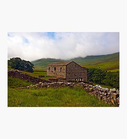 Dales Stone Barn Photographic Print
