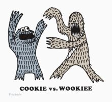 Cookie Vs. Wookiee Baby Tee