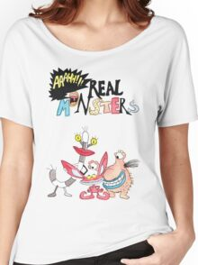 Real Monsters! Women's Relaxed Fit T-Shirt