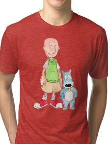 Doug and Porkchop Tri-blend T-Shirt