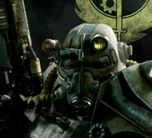Fallout- For the Brotherhood of Steel Sticker