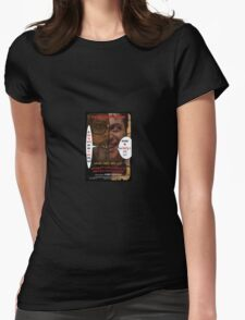 Kount Kracula's Review Showcase -TV Show Promo Poster  Womens Fitted T-Shirt