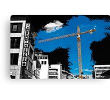 Hannoverian Construction Canvas Print