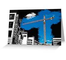 Hannoverian Construction Greeting Card