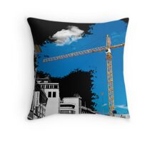 Hannoverian Construction Throw Pillow