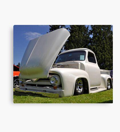1954 Ford tilt hood Canvas Print