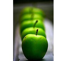 Green Apple, apple, apple... Photographic Print