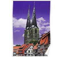 Architecture of Quedlinburg Poster