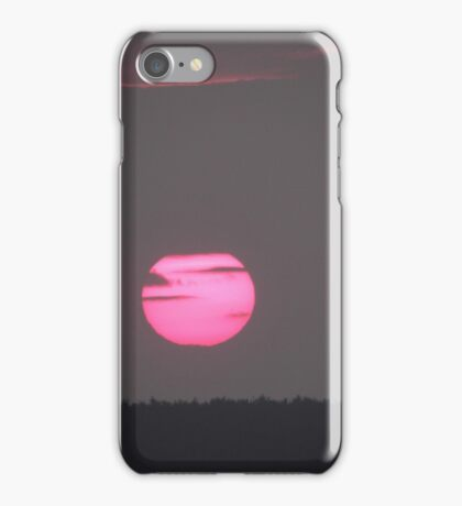 Setting sun over Donegal- Ireland  iPhone Case/Skin