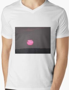 Setting sun over Donegal- Ireland  Mens V-Neck T-Shirt