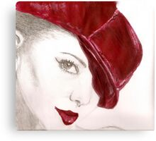 The Gorgeous Miss Cheryl Canvas Print