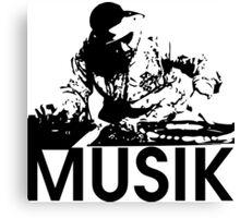 Musik DJ Canvas Print