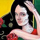 Dia de Los Muertos by whiterabbitart