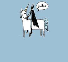 Paul Friedrich Batman on a Unicorn Unisex T-Shirt