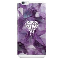 crystal diamonds iPhone Case/Skin