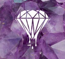 crystal diamonds Sticker