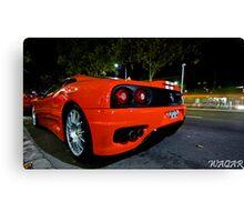 Ferrari 360 Challenge Stradle Canvas Print